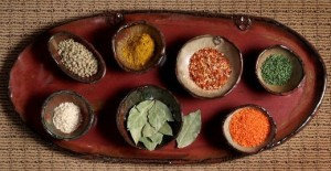 platter with spices cropped