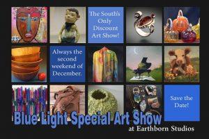 Blue Light Special Art Show