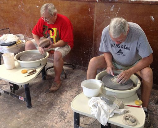 pottery classes forming now