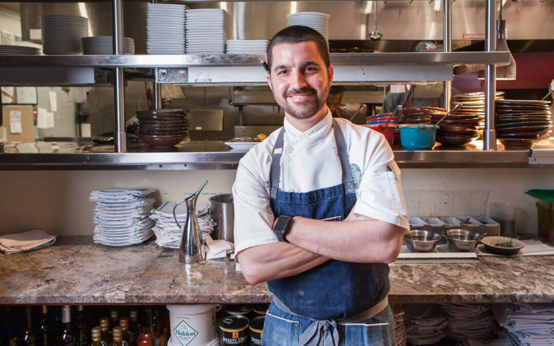 Chef Alex Eaton